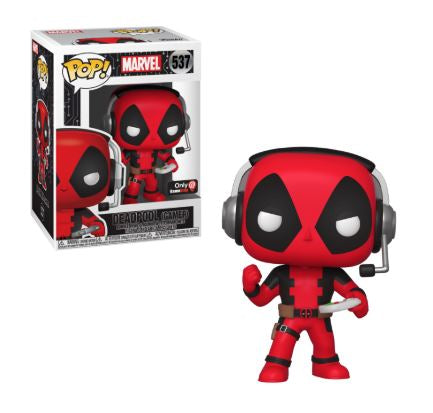 Pop! Marvel - Deadpool (Gamer) #537 | SKYFOX GAMES