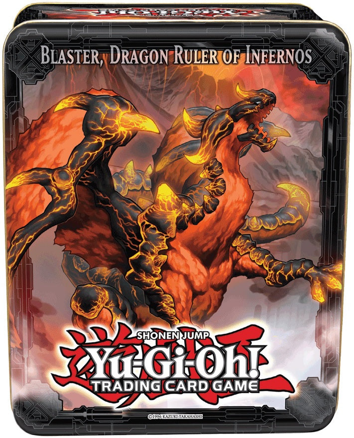 Yu-Gi-Oh! - 2013 Collectible Tin Blaster, Dragon Ruler of Infernos | SKYFOX GAMES