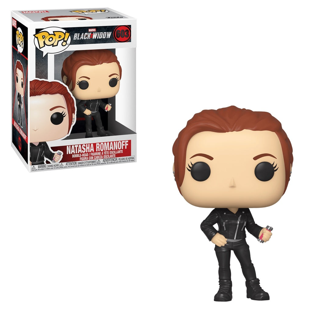 Pop! Heroes - Black Widow: Natasha Romanoff #603 | SKYFOX GAMES