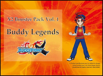 Future Card Buddyfight Buddy Legends booster box