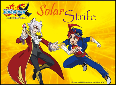 Future Card Buddyfight Solar Strife booster box