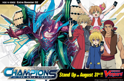 Cardfight! Vanguard V-EB02 Champions of the Asia Circuit booster box - PREORDER (August 31, 2018)