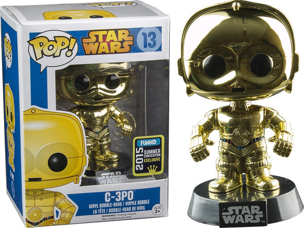 C-3PO (Chrome Metallic) (2015 FUNKO Summer Convention Exclusive)