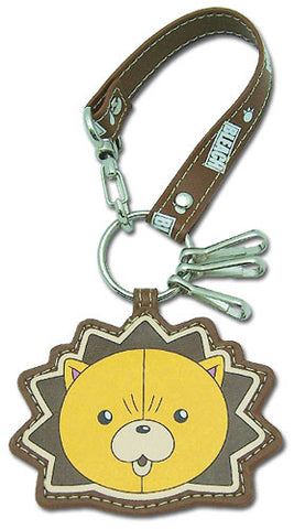 BLEACH KON LEATHER KEYCHAIN