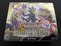 Legendary Duelists Magical Hero Booster Box Unlimited Edition