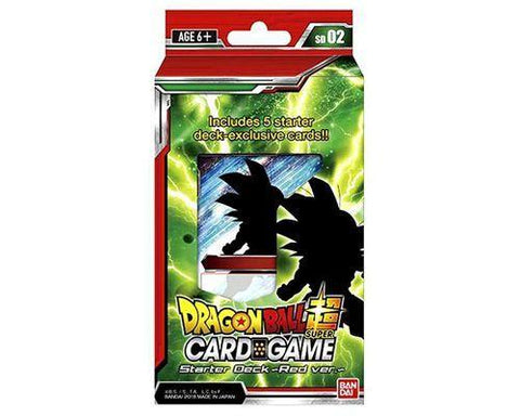 Dragon Ball Super Card Game Red Starter Deck