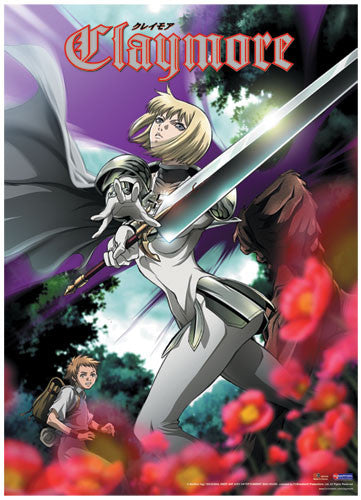 CLAYMORE CLARE IN THE FOREST WALL SCROLL | SKYFOX GAMES