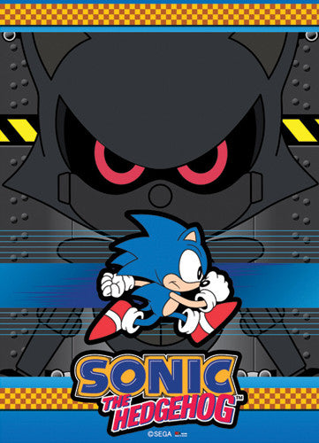 SONIC CLASSIC GROUP WALL SCROLL | SKYFOX GAMES
