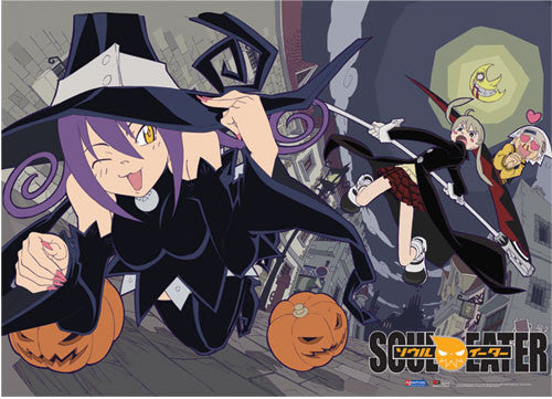 SOUL EATER BLAIR & PUMPKIN WALL SCROLL | SKYFOX GAMES