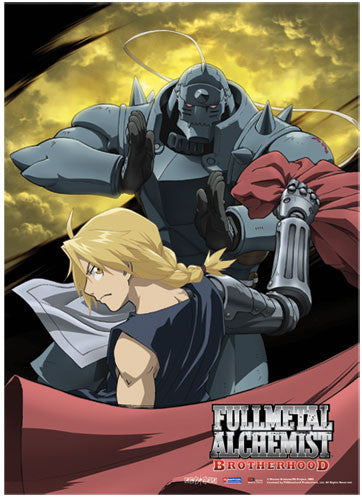 FMA BROTHERHOOD MOON WALL SCROLL | SKYFOX GAMES
