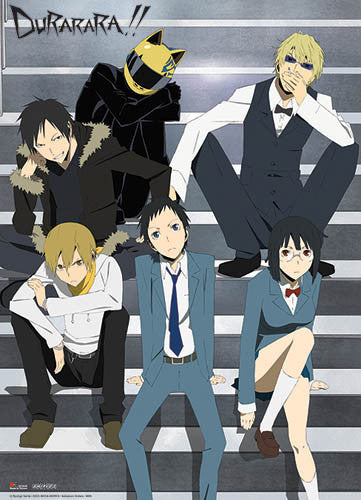DURARARA!! ON THE STAIRCASE WALL SCROLL | SKYFOX GAMES