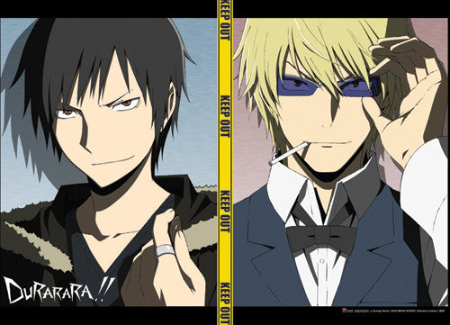 DURARARA!! IZAYA AND SHIZUO WALL SCROLL | SKYFOX GAMES