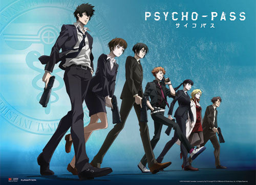 PSYCHO PASS - GROUP LINE-UP WALLSCROLL | SKYFOX GAMES