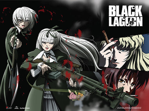BLACK LAGOON - HANSEL & GRETEL WALL SCROLL