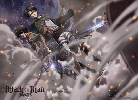 ATTACK ON TITAN - GROUP 2 WALLSCROLL