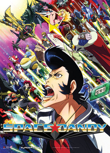 SPACE DANDY - SPACE DANDY WALL SCROLL | SKYFOX GAMES