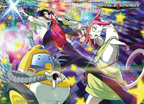 SPACE DANDY - DANCE PARTY WALL SCROLL | SKYFOX GAMES