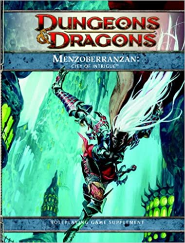 Dungeons and Dragons 4th Edition Menzoberranzan: City of Intrigue | SKYFOX GAMES