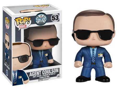 Pop! Marvel Agents Of S.H.I.E.L.D: Agent Coulson #53 (Vaulted) | SKYFOX GAMES