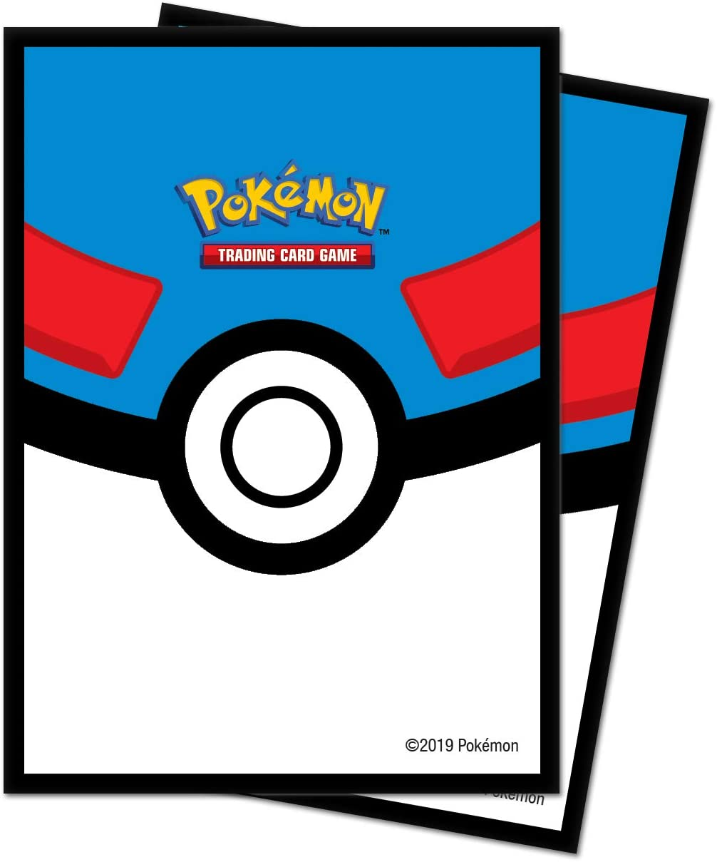 Great Ball Card Sleeves - Pokemon  [65 ct] | SKYFOX GAMES