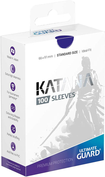 Blue Standard Size Card Sleeves - Ultimate Guard KATANA [100 ct]