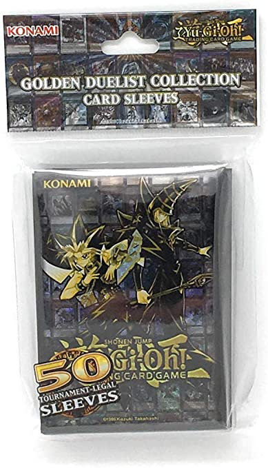 Golden Duelist Collection Card Sleeves - Yu-Gi-Oh Official Sleeves [50 ct] | SKYFOX GAMES