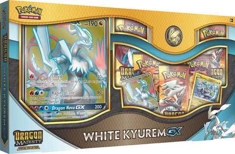 Pokémon - Dragon Majesty White Kyurem GX Box