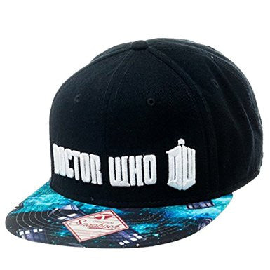 Doctor Who Space Flatbill Snapback | SKYFOX GAMES