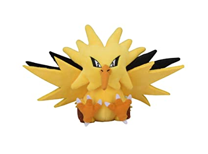 Zapdos Sitting Cuties Plush - 8 3/4 In.