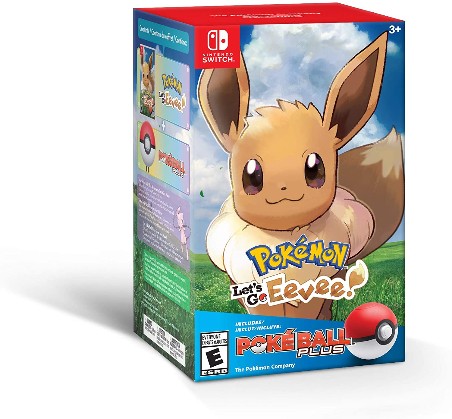 Pokemon: Let's Go Eevee! Bundle+ (Nintendo Switch) | SKYFOX GAMES