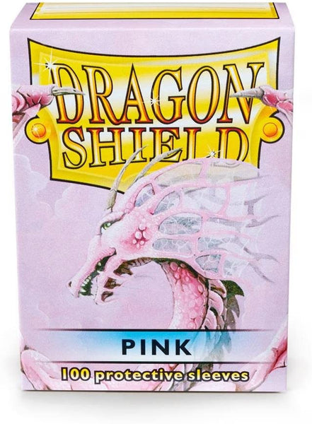 Pink Standard Size Card Sleeves - Dragon Shield  [100 ct]