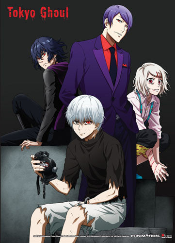 TOKYO GHOUL - GROUP 03 SPECIAL EDITION WALL SCROLL | SKYFOX GAMES