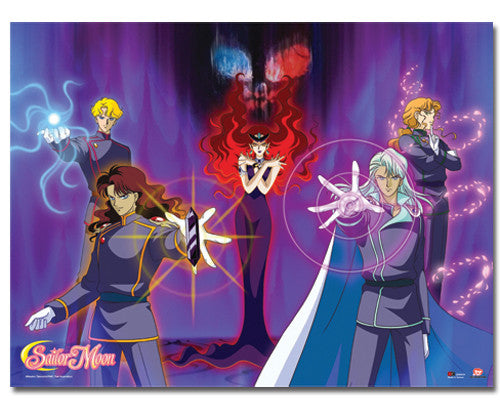 SAILORMOON BERYL'S GROUP WALLSCROLL | SKYFOX GAMES