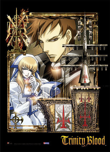TRINITY BLOOD TRES & SISTER CATE WALL SCROLL | SKYFOX GAMES
