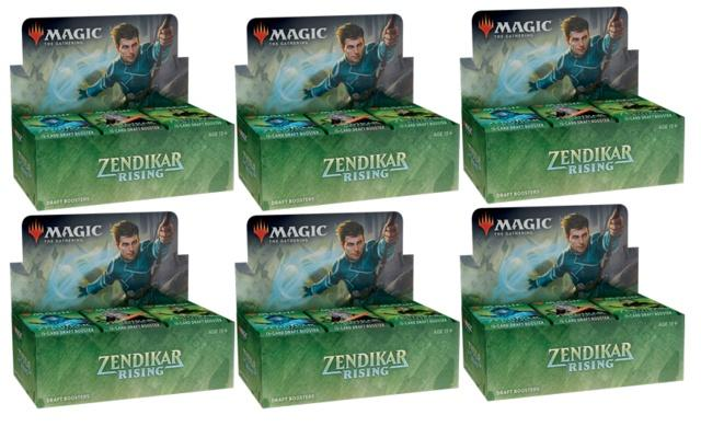 Zendikar Rising Booster Case | SKYFOX GAMES
