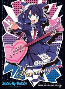Character Sleeve - SHOW BY ROCK!!: Cyan (EN-063) Pack | SKYFOX GAMES
