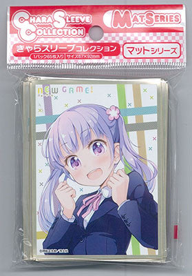 "Chara Sleeve Collection Matte Series ""NEW GAME!"" Aoba Suzukane A (No.MT132) Pack 