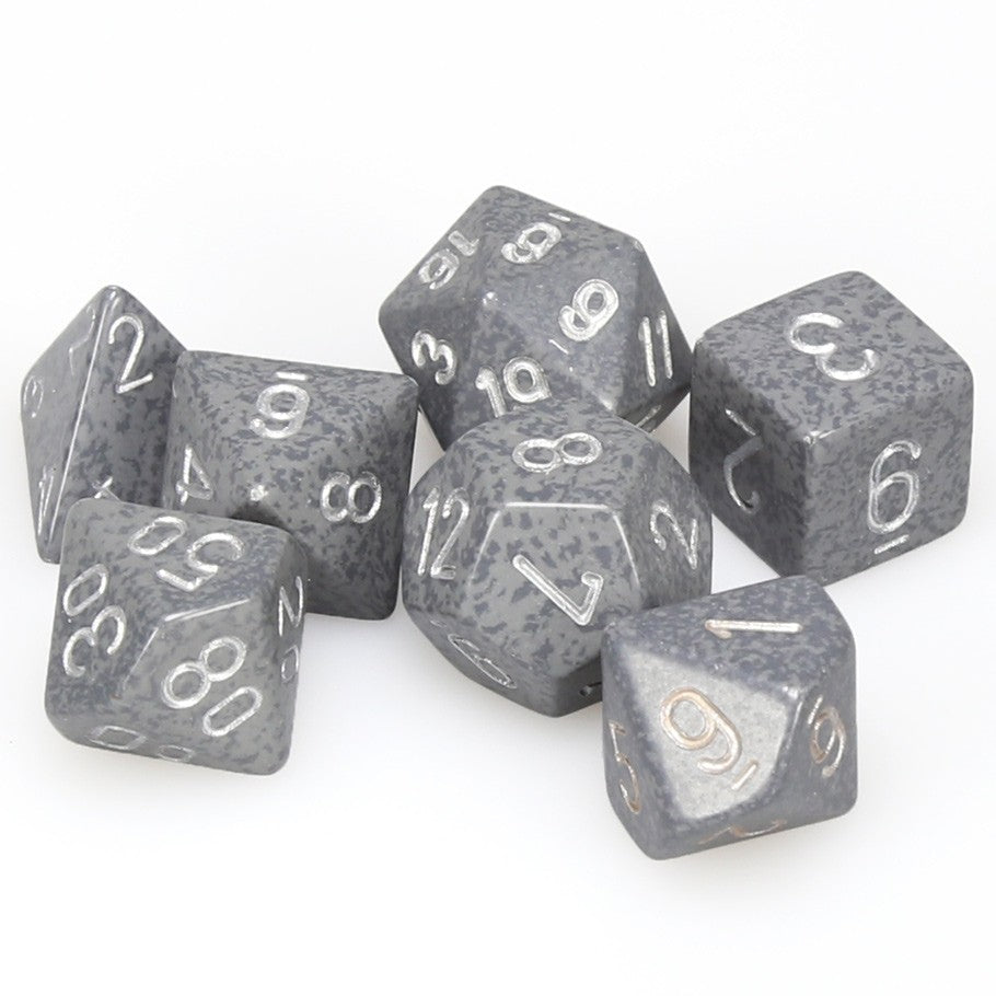 Chessex Hi-Tech - Speckled - 7 Dice | SKYFOX GAMES