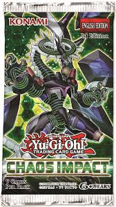 Yugioh! Chaos Impact Booster Pack