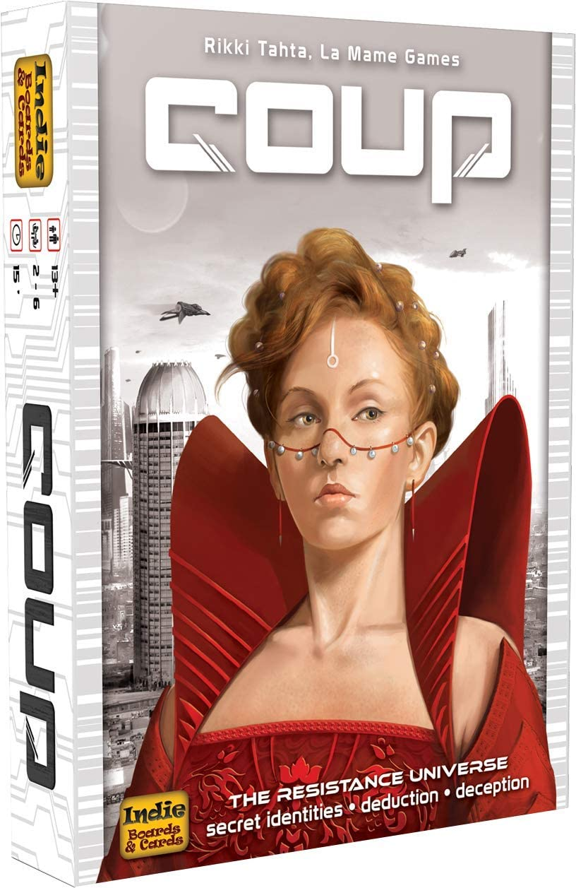 Coup (The Dystopian Universe) | SKYFOX GAMES