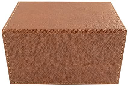 Dex Creation Deck Box - Medium Brown (100) | SKYFOX GAMES