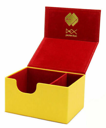 Dex Creation Deck Box - Medium Yellow (100) | SKYFOX GAMES