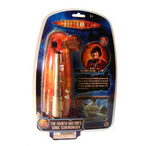 Doctor Who Fourth Doctor Sonic Screwdriver | SKYFOX GAMES