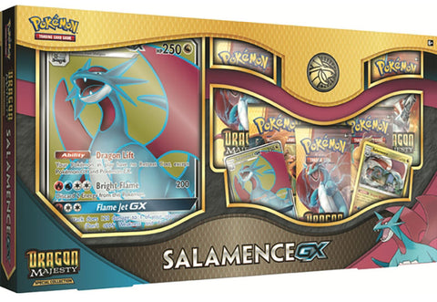Pokémon - Dragon Majesty Salamance GX Box