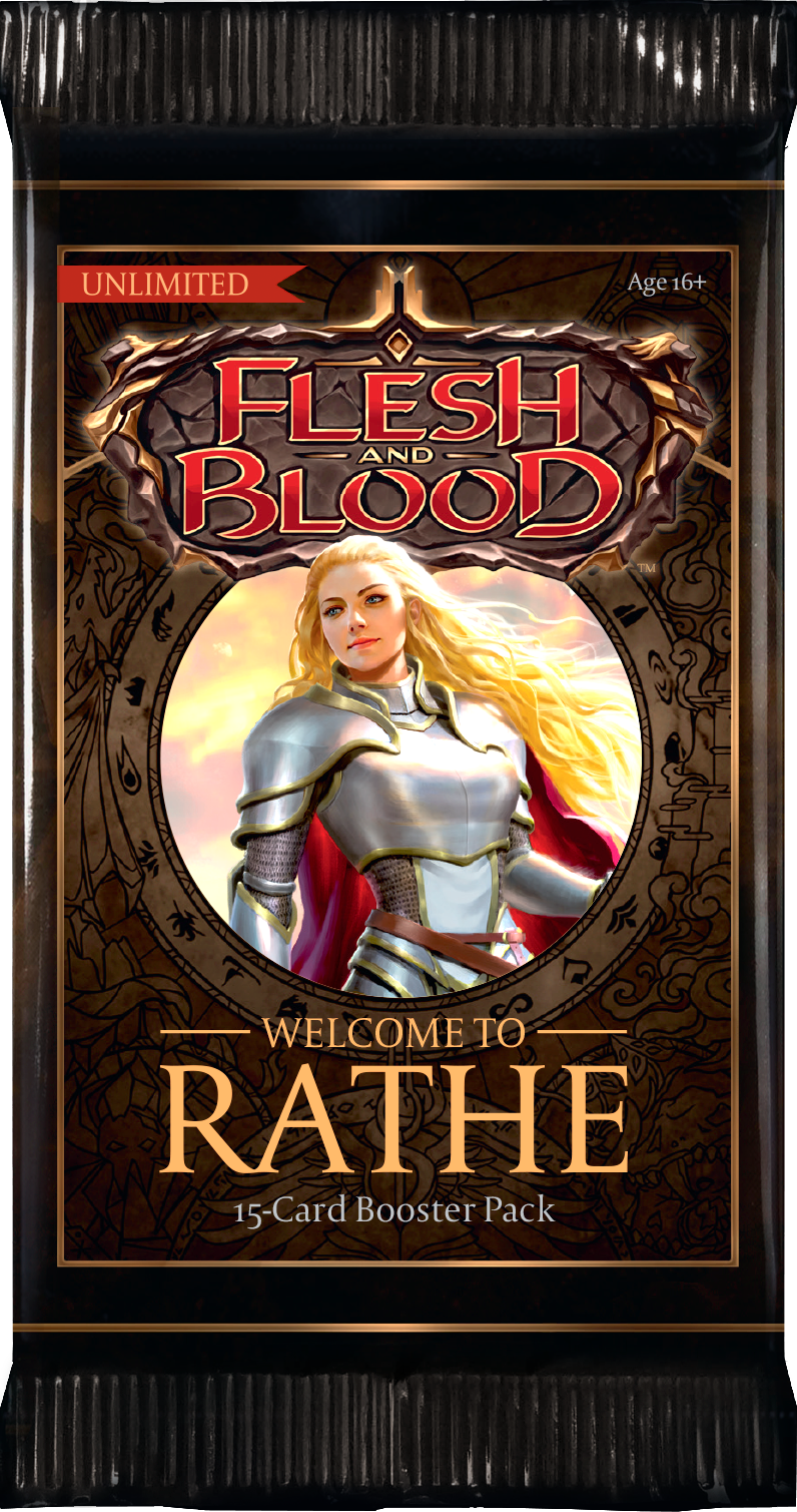 Flesh and Blood Welcome to Rathe Booster pack (Unlimited) | SKYFOX GAMES