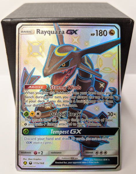 Rayquaza GX - Pokemon Card (Hidden Fates Premium Collection - 177a/168)