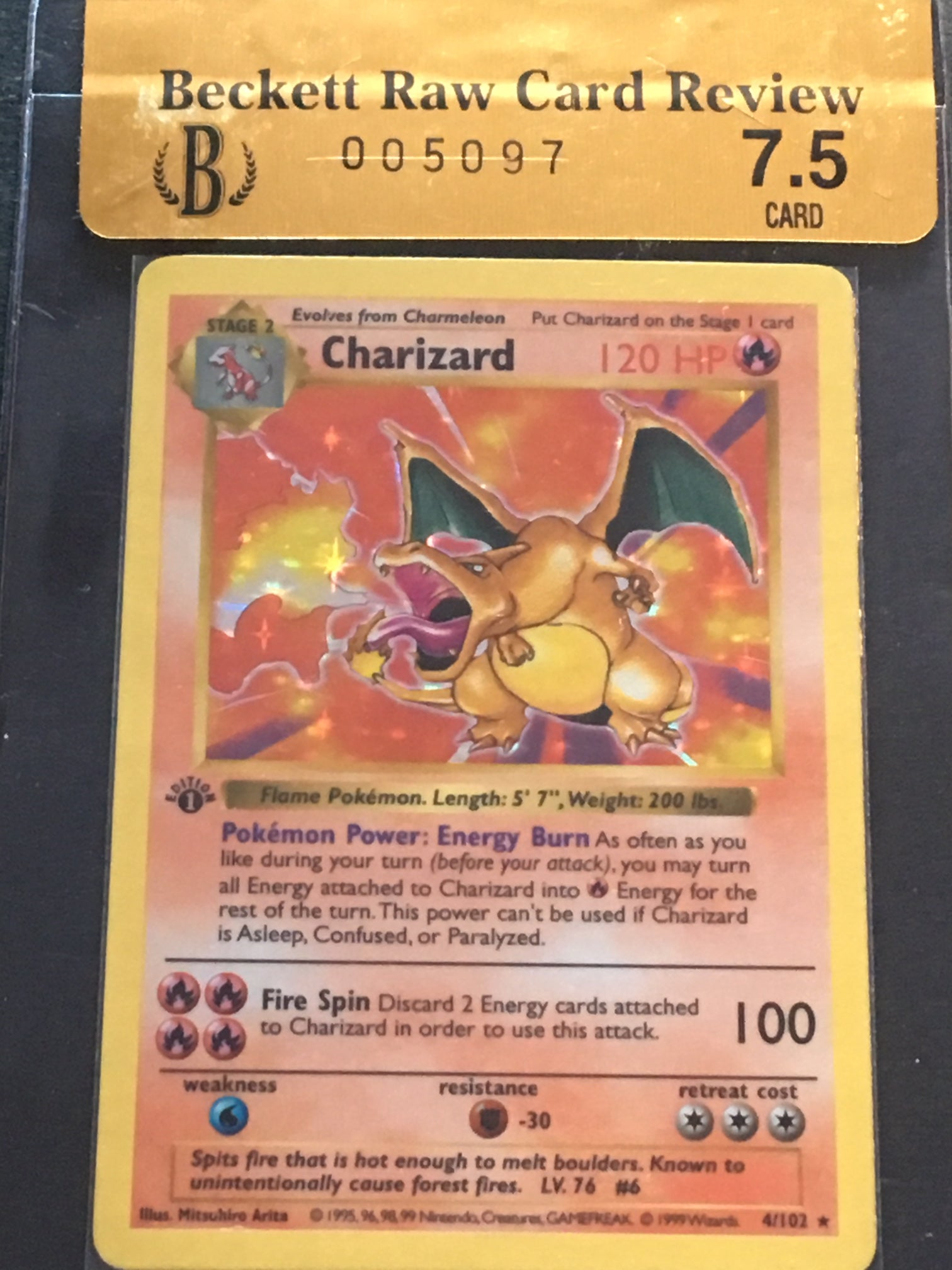 Charizard (1st Edition Base Set) English | SKYFOX GAMES