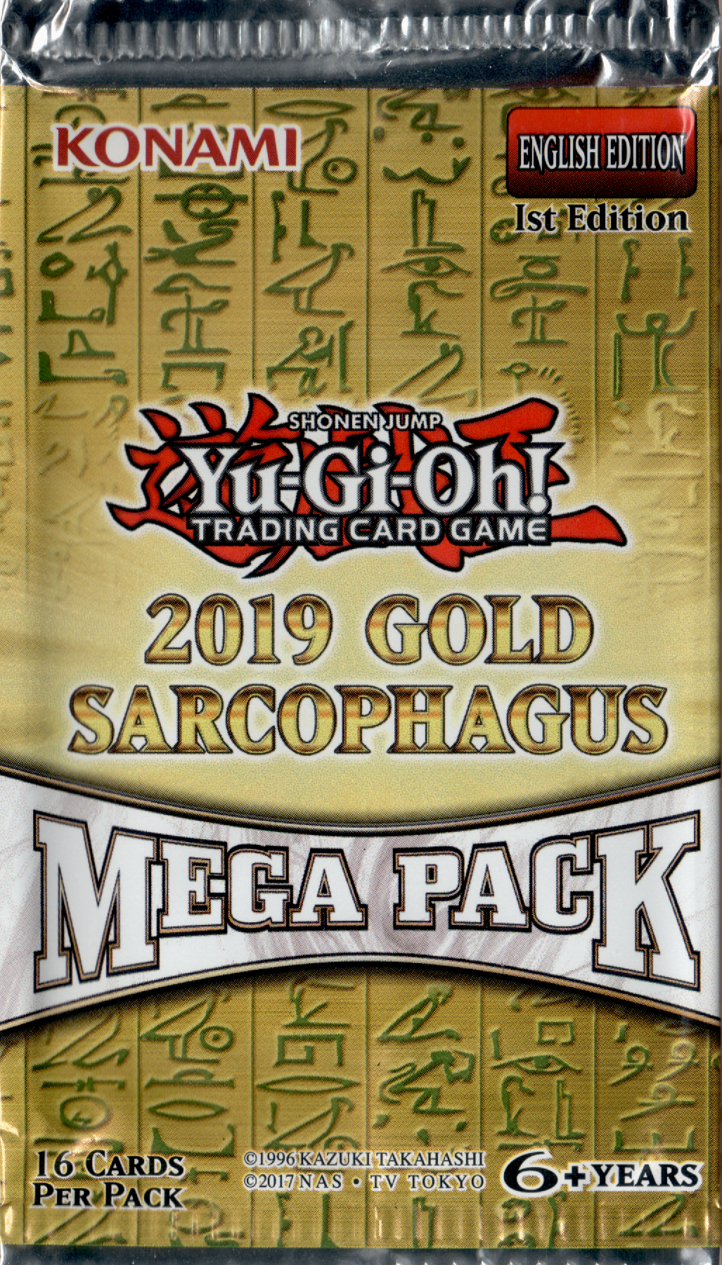 Gold Sarcophagus 2019 Booster Pack | SKYFOX GAMES