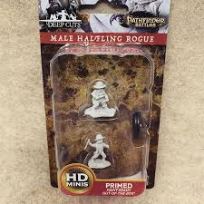 Wizkids Deep Cuts - Male Halfling Rogue (Unpainted Miniature) | SKYFOX GAMES