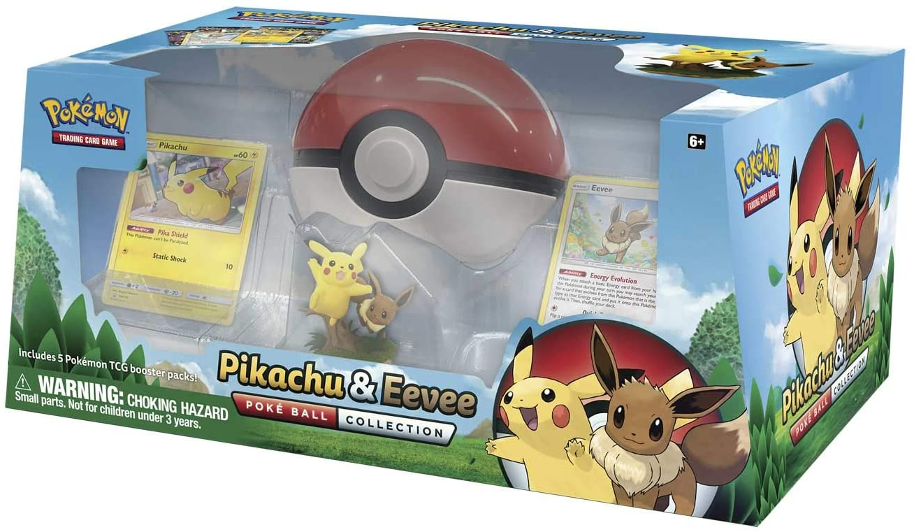 Pokemon - Pikachu & Eevee Pokeball Collection | SKYFOX GAMES